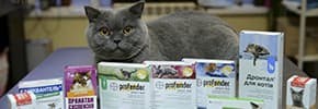 Цены на Средства от паразитов для кошек, фото