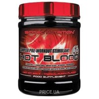 Фото Scitec Nutrition Hot Blood 3.0 300 g