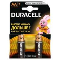Фото Duracell AA bat Alkaline 2шт Basic 81267329