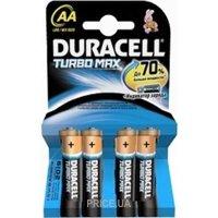 Фото Duracell AA bat Alkaline 4шт Turbo Max 81367987