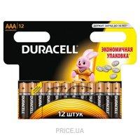 Фото Duracell AAA bat Alkaline 12шт Basic 81417119