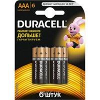 Фото Duracell AAA bat Alkaline 6шт Basic 81485017