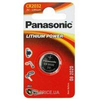 Фото Panasonic CR-2032 bat(3B) Lithium 1шт (CR-2032EL/1B)