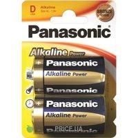 Фото Panasonic D bat Alkaline 2шт Alkaline Power (LR20REB/2BP)