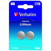Фото Verbatim CR 2032 bat(3B) Lithium 2шт (49936)