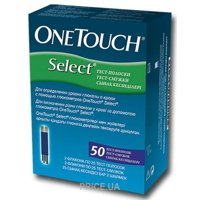 Фото One Touch Select + 50 тест-полосок