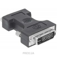 Фото Manhattan DVI-I to VGA Adapter (328883)