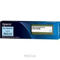 Сравнить цены на Apacer 8GB DDR3 1333MHz (DL.08G2J.K9M)