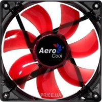 Фото Aerocool Lightning 12cm Red LED