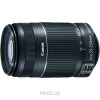 Сравнить цены на Canon EF-S 55-250mm f/4-5.6 IS STM