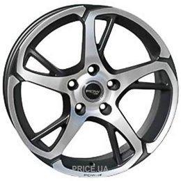 PDW Wheels 207 (R18 W8.0 PCD5x120 ET42 DIA73.1)