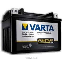 Varta 6CT-12 FUNSTART AGM (YT14B-4, YT14B-BS)