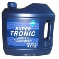 Фото ARAL SuperTronic Longlife III 5W-30 4л