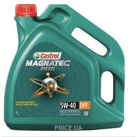 Фото CASTROL Magnatec Diesel DPF 5W-40 4л