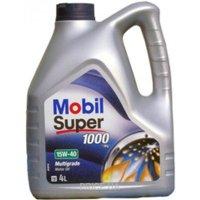 Фото MOBIL Super 1000 X1 15W-40 4л