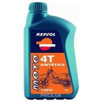 Фото Repsol Moto Sintetico 4T 10W-40 1л
