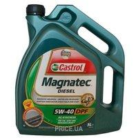 Фото CASTROL Magnatec Diesel DPF 5W-40 5л