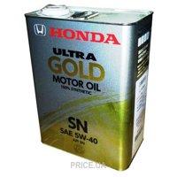 Фото HONDA Ultra Gold 5W-40 4л (0822099974)