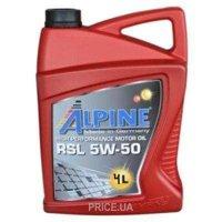 Фото Alpine RSL 5W-50 4л