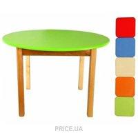 Фото Финекс Плюс Стол деревянный с круглой столешницей