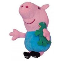 Фото Peppa Pig Джордж с игрушкой 20 см (25088)