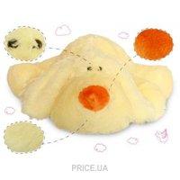 Фото Pink Elephant Собачка-подушка Сонька 40 см Кремовая (4823015929052)