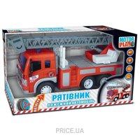 Фото Motor Play Пожарный автомобиль Спасатель (12014)