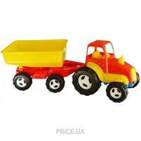 Фото Kinderway Трактор с прицепом (07-709)