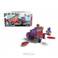 Фото Dickie Toys Transformers Оптимус Прайм с функцией стрельбы (3116003)