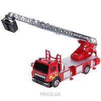 Фото Cararama Пожарный автомобиль с лестницей 1:40 (290-064)