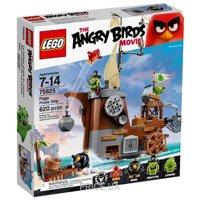 Фото LEGO Angry Birds 75825 Пиратский корабль свинок