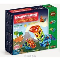Фото Magformers Dino Mini Dinosaur set 708003
