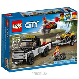 Фото LEGO City 60148 Гоночная команда