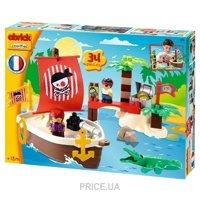Фото Ecoiffier Abrick Themed sets 3179 Сокровища пиратов