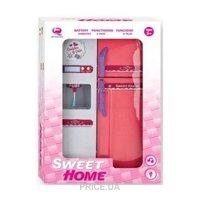 Фото QunFengToys Холодильник, бело-розовый (2550Р)