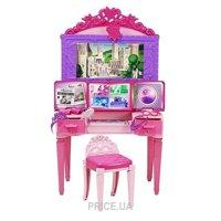 Фото Mattel Barbie Волшебный туалетный столик из м/ф Суперпринцесса (CDY64)