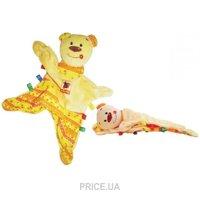 Фото Vladi Toys Игрушка-обнимашка Медвежонок Тихоня (MK4101-01)