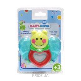 Фото Baby-Nova Охлаждающее зубное кольцо Бабочка (31507)