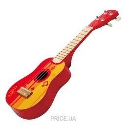 Фото Hape Красная гитара (E0316)