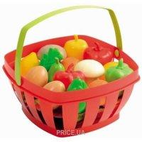 Фото Ecoiffier Корзинка с овощами и фруктами (966)