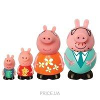 Фото Peppa Pig Набор игрушек-брызгунчиков Семья Пеппы (25068)