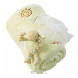 Фото BabyFehn Флисовое мягкое одеяло Ягненок (396089)