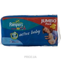 Фото Pampers Active Baby Junior 5 (58 шт.)