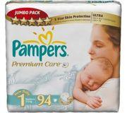 Фото Pampers Premium Care Newborn 1 (94 шт.)