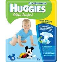 Фото Huggies Ultra Comfort для мальчиков 4 (80 шт.)
