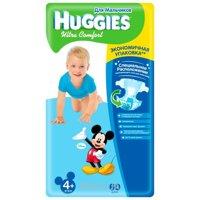 Фото Huggies Ultra Comfort для мальчиков 4+ (60 шт.)