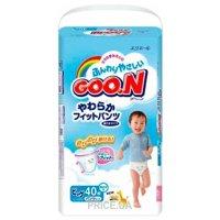 Фото Goo.N Подгузники-трусики для мальчиков XL 12-20 кг (40 шт.)