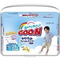 Фото Goo.N Подгузники-трусики для мальчиков XXL 13-25 кг (28 шт.)