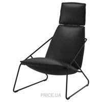 Фото IKEA VILLSTAD Кресло/высокая спинка (102.396.28)