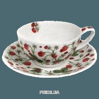 Фото Dunoon Dovedale sberry чашка чайная с блюдцем 250мл (18438)